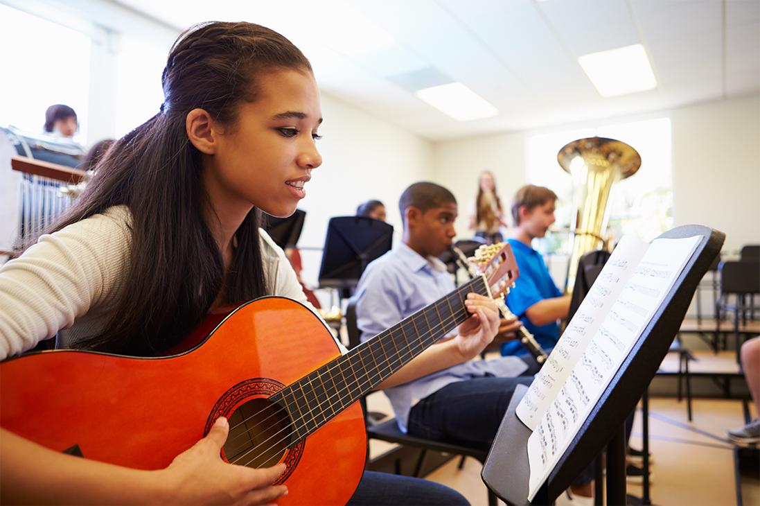 Music-in-schools